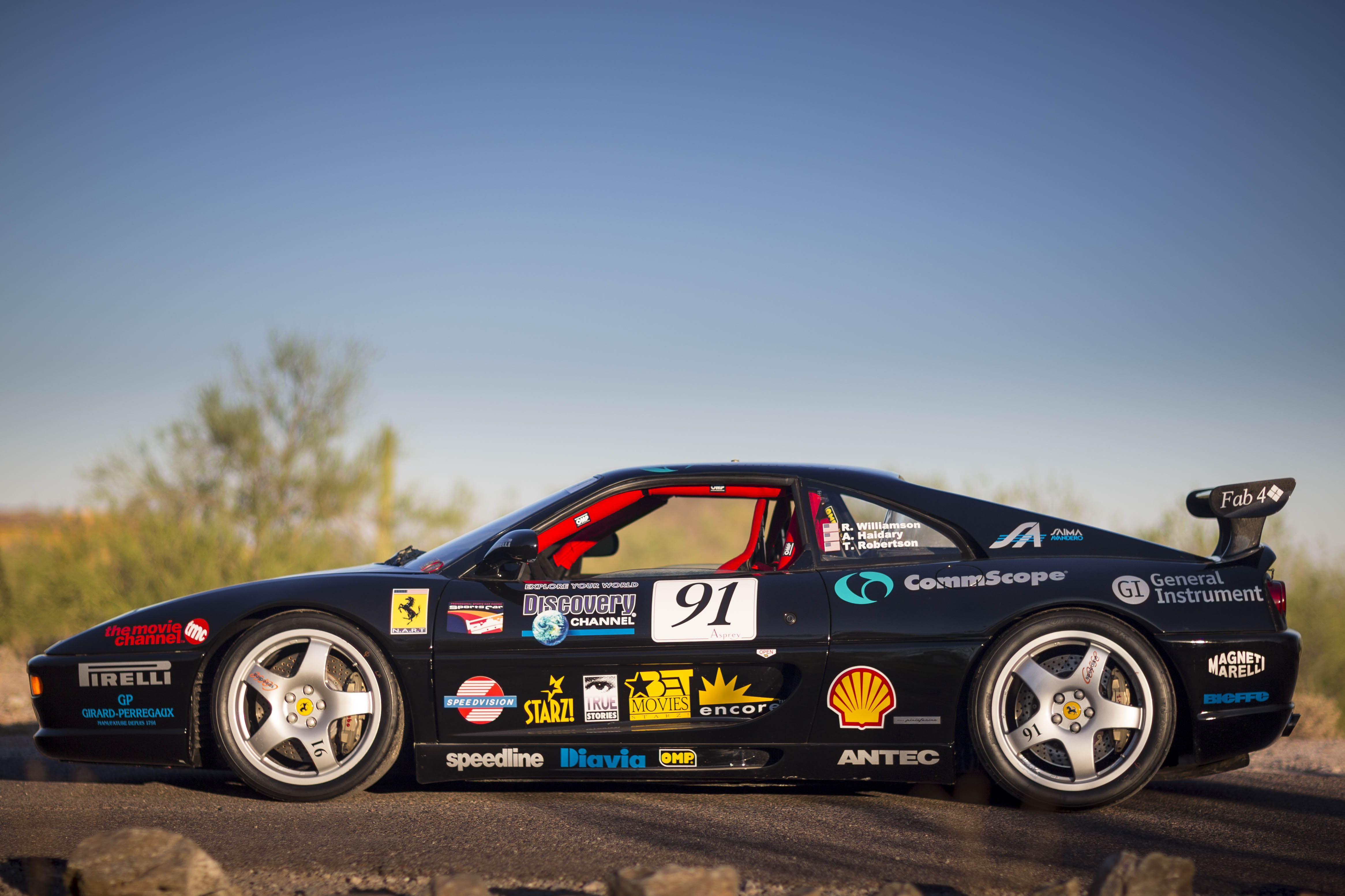 See More Details, Pictures And Talk About The Ferrari HERE At The Challenge  Board