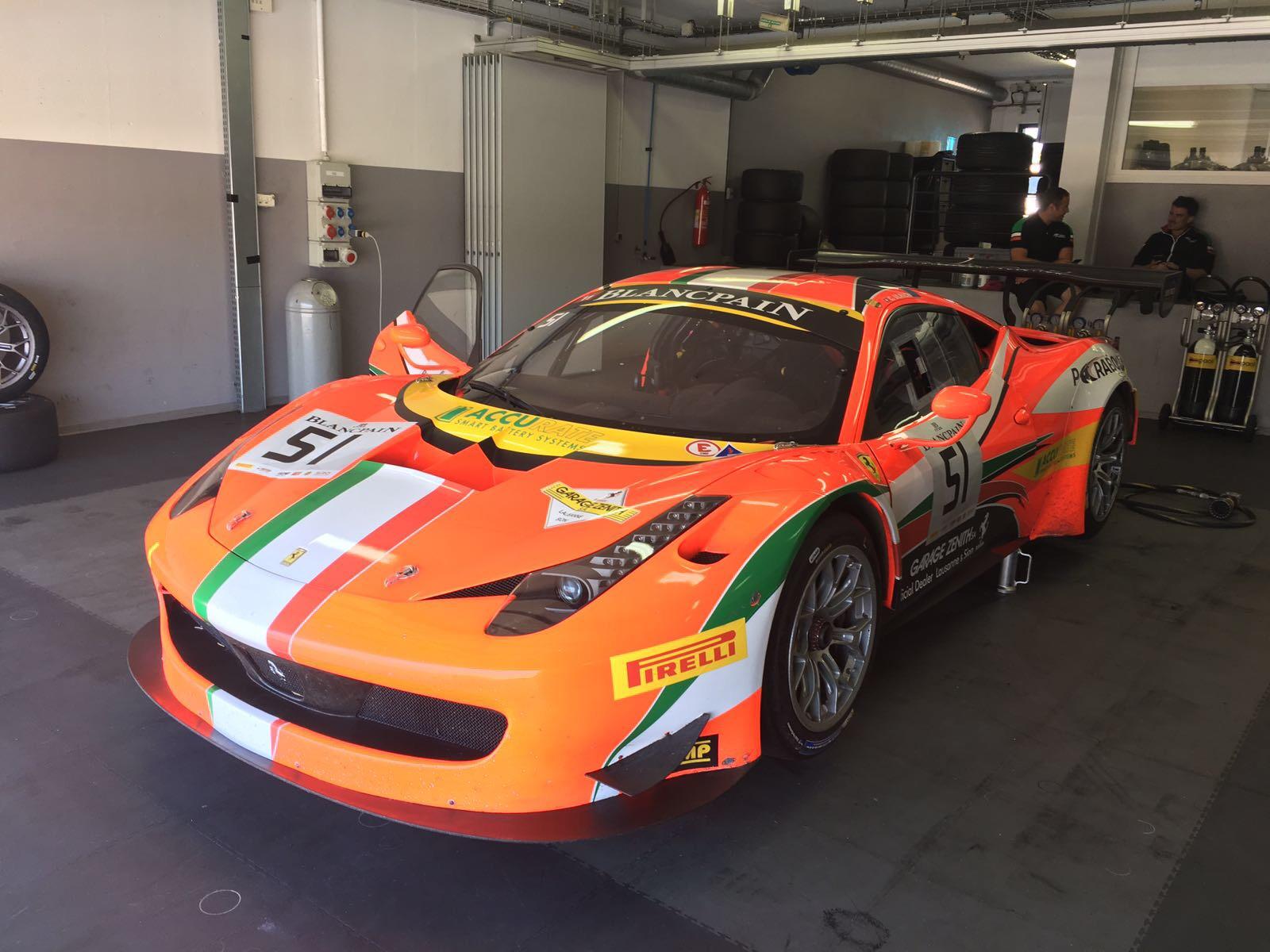 Adventure Le Mans Gt3 Race Ferrari 458 Gt3 Fchgt