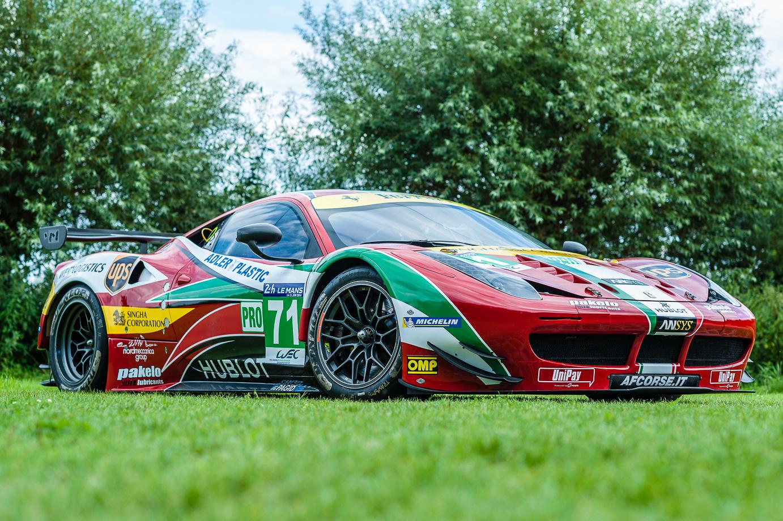For Sale – 2014 Ferrari 458 GT2 Works Car