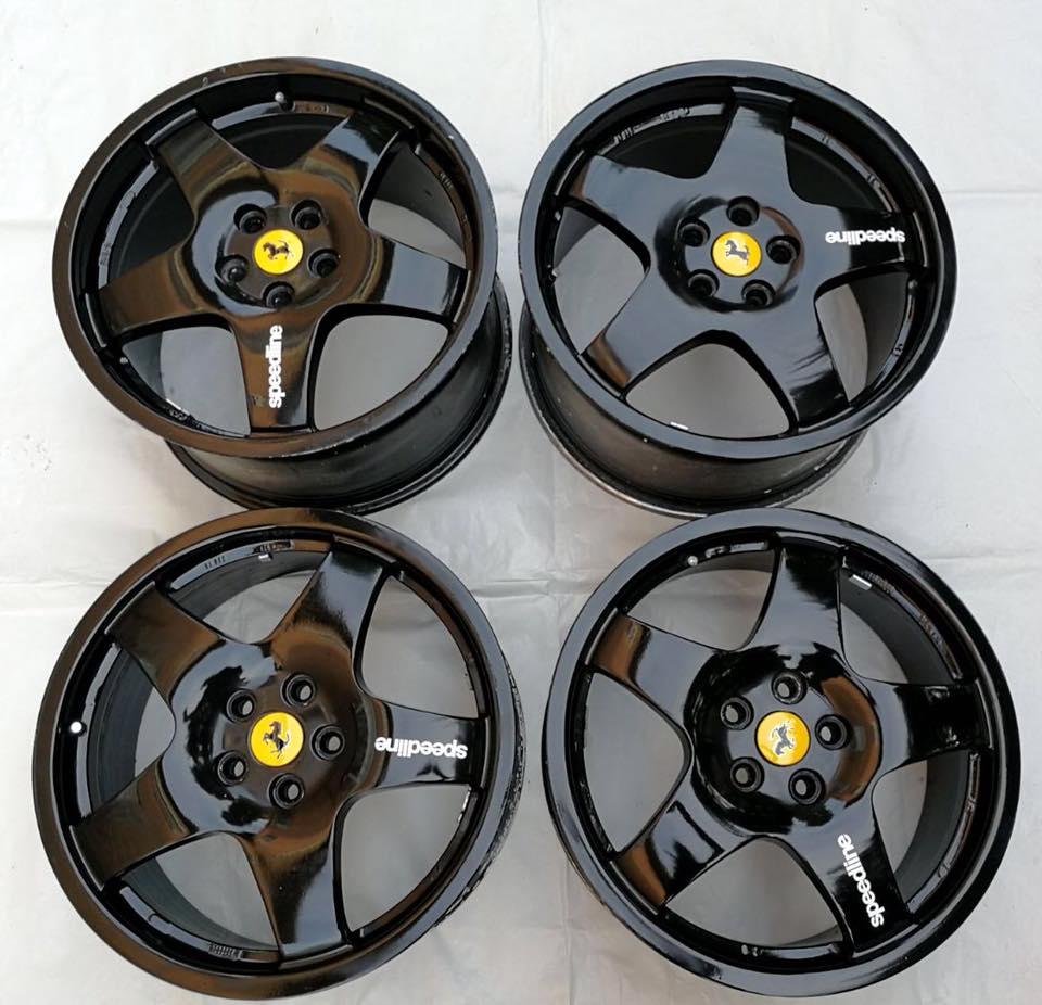 For Sale Complete Set Of Rims 18 Speedline Sl886 For