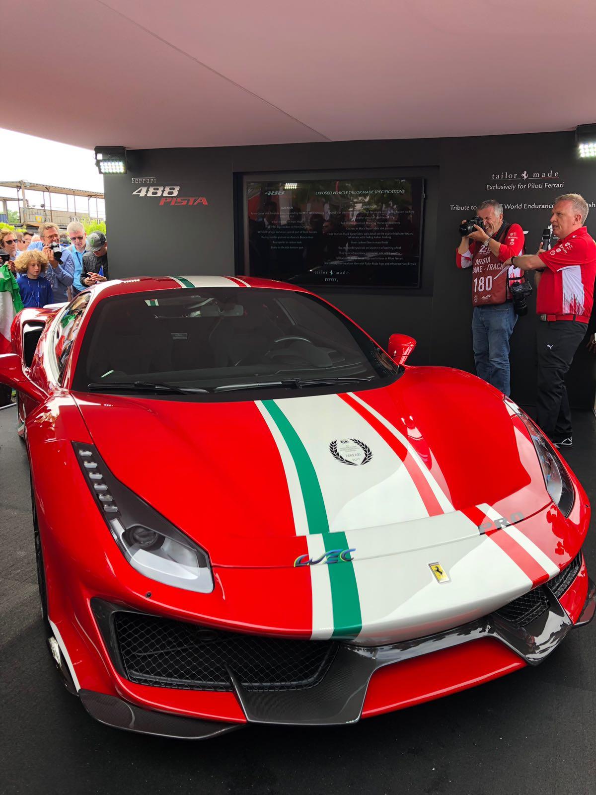 Ferrari For Sale >> The brand new Ferrari 488 Pista Pilota   FCHGT