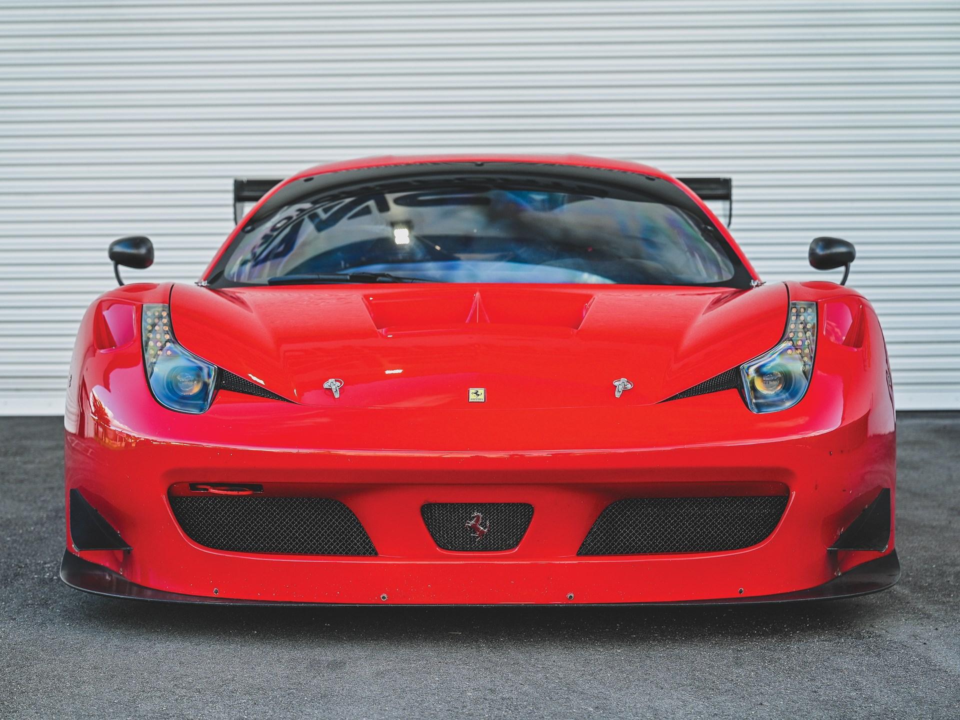 At Rm Sotheby S Auction 2014 Ferrari 458 Italia Gt3 Fchgt