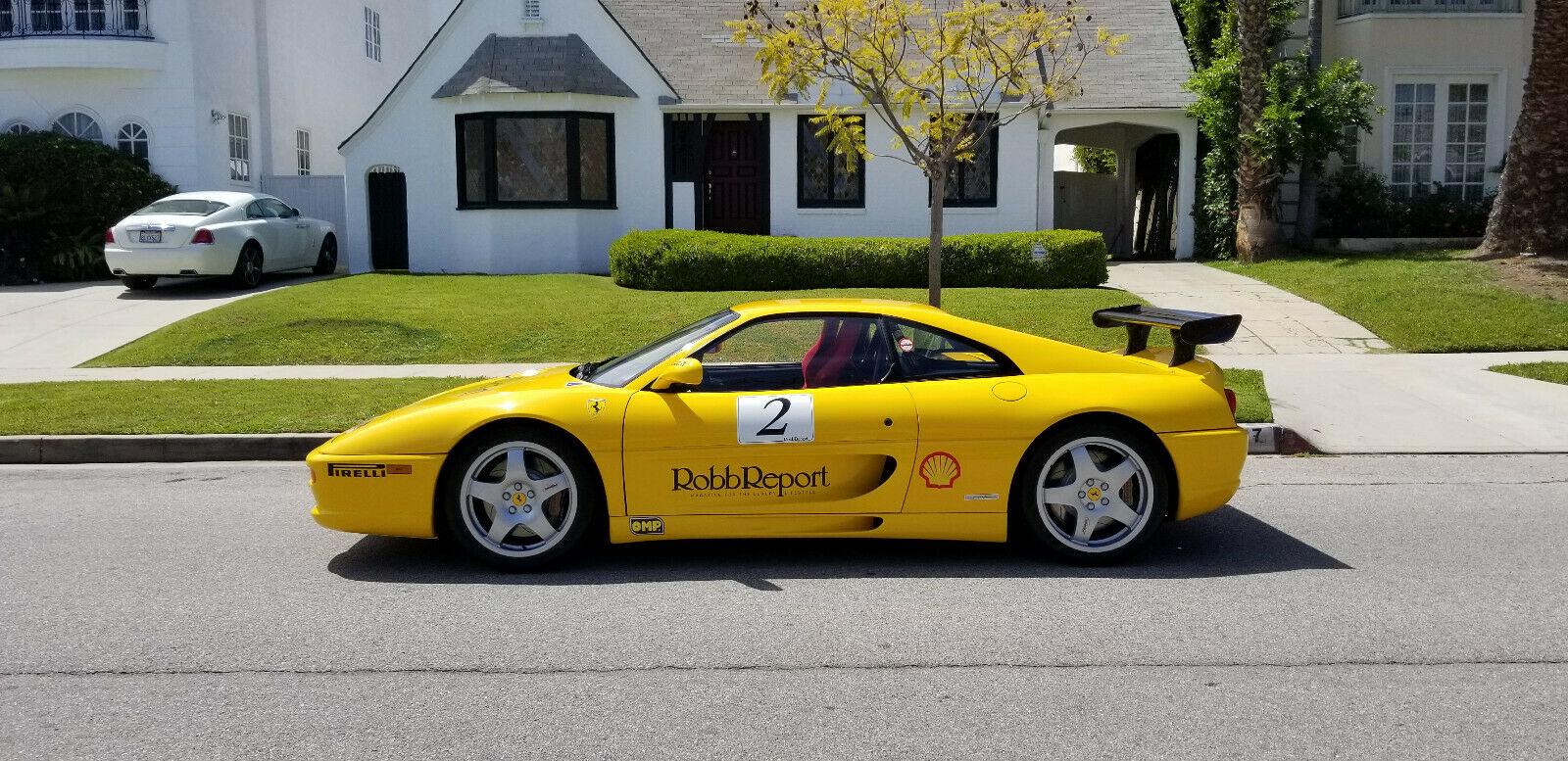 For Sale On Ebay 1997 Ferrari 355 Challenge Road Legal Restored Fchgt